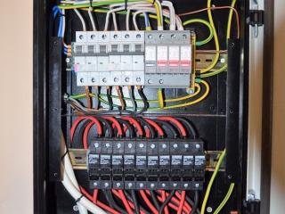 Защитная автоматика для солнечной электростанциии UTEM SOLAR