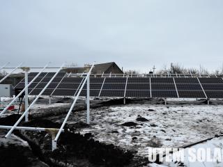 Наземная конструкция для солнечной электростанции - UTEM SOLAR