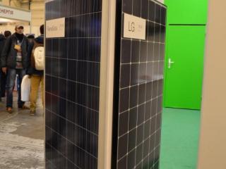 Солнечны батареи ReneSola и LG NeON2