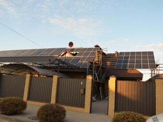 Сонячна електростанція 27 кВт Суми