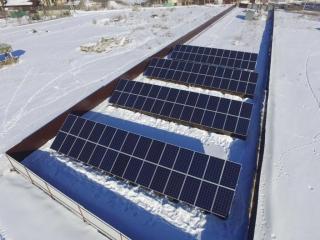 Наземная солнечная электростанция для Зеленого Тарифа - UTEM SOLAR