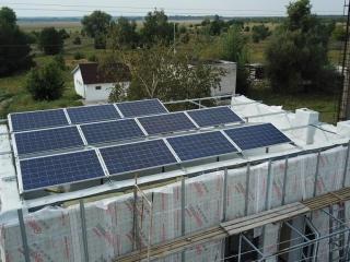 Солнечные батареи плоская кровля UTEM SOLAR