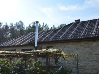 Монтаж конструкций для солнечных батарей