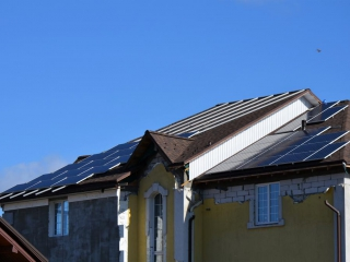 Сетевая солнечная электростанция 12 кВт - UTEM SOLAR