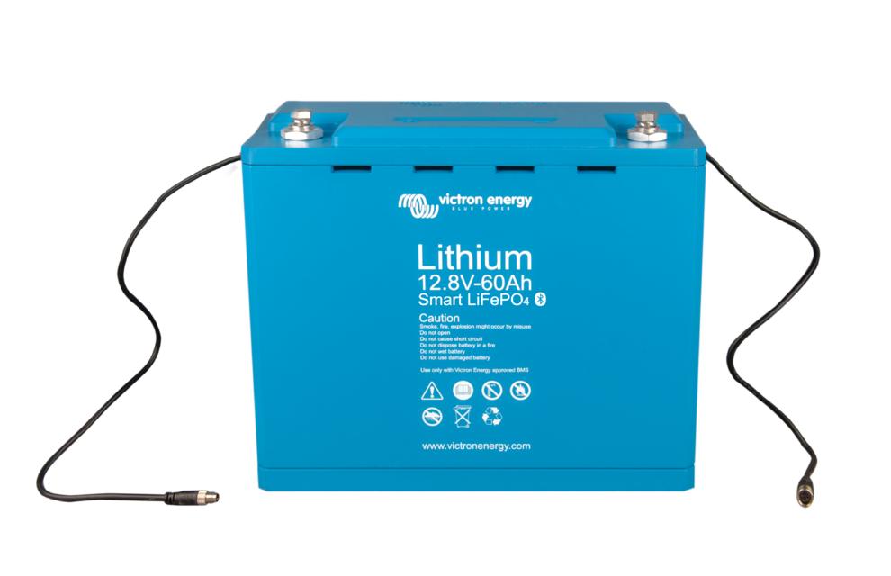Литий ионный аккумулятор Victron Energy LiFePO4 12,8В/60Ач Smart