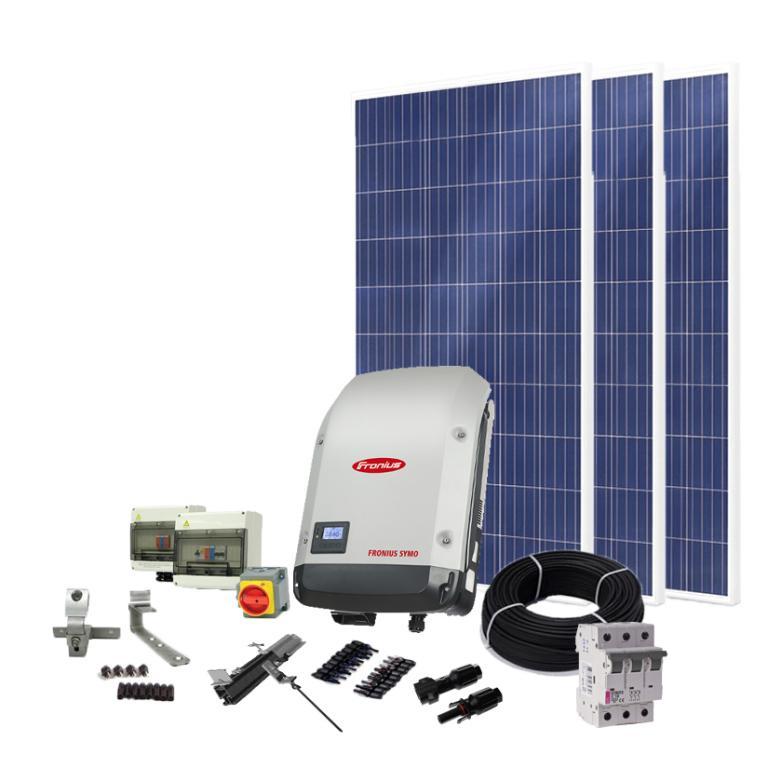 Комплект солнечных батарей для Зеленого тарифа 12,5 кВт