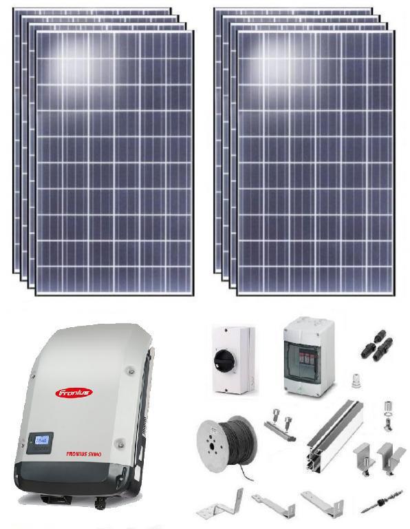 Солнечная установка для экономии электроэнергии мощностью P=5кВт/3ф