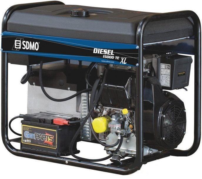Дизельный генератор SDMO DIESEL 15000 TE-ХL-C (380В/10 квт)