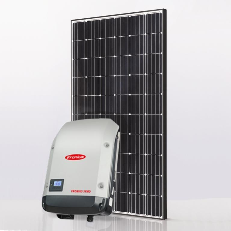 Базовый комплект 5 кВт Fronius Symo 5.0-3-M + IBC MonoSol 300 ZX4