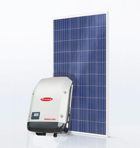 Базовый комплект 10 кВт Fronius Symo 10.0-3-M + JA JAP-60-270 4BB
