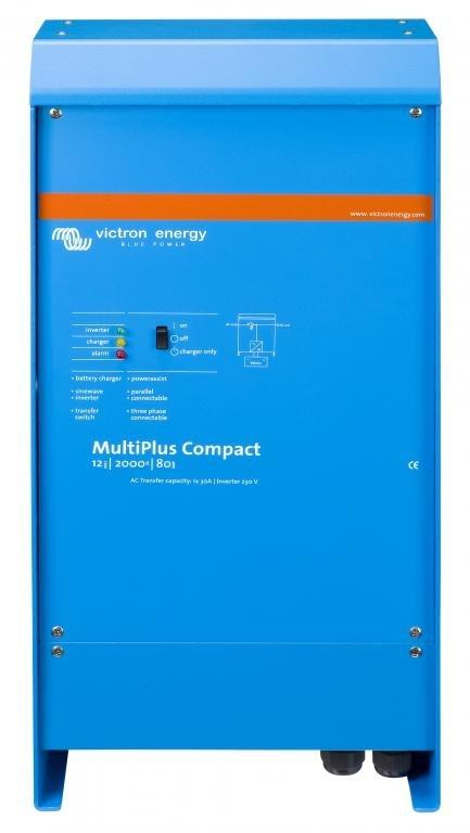 Автономный инвертор Victron MultiPlus Compact 24/2000/50-30 230V VE.Bus