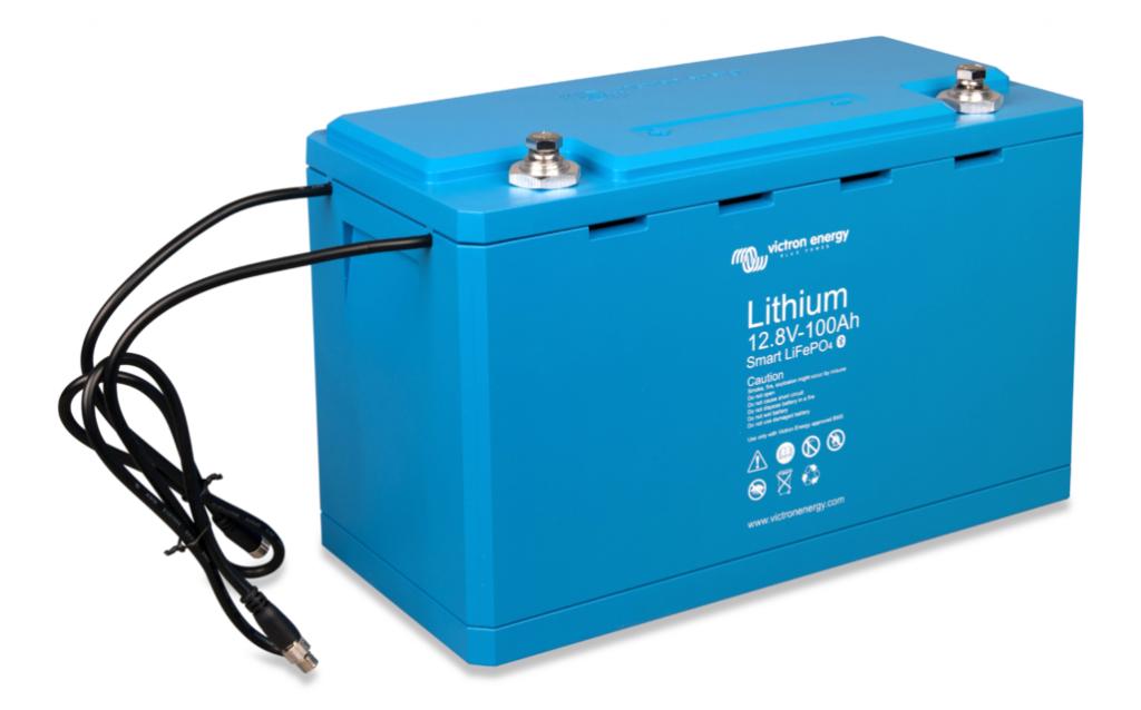 Литий ионный аккумулятор Victron Energy LiFePO4 12,8В/90Ач Smart copy