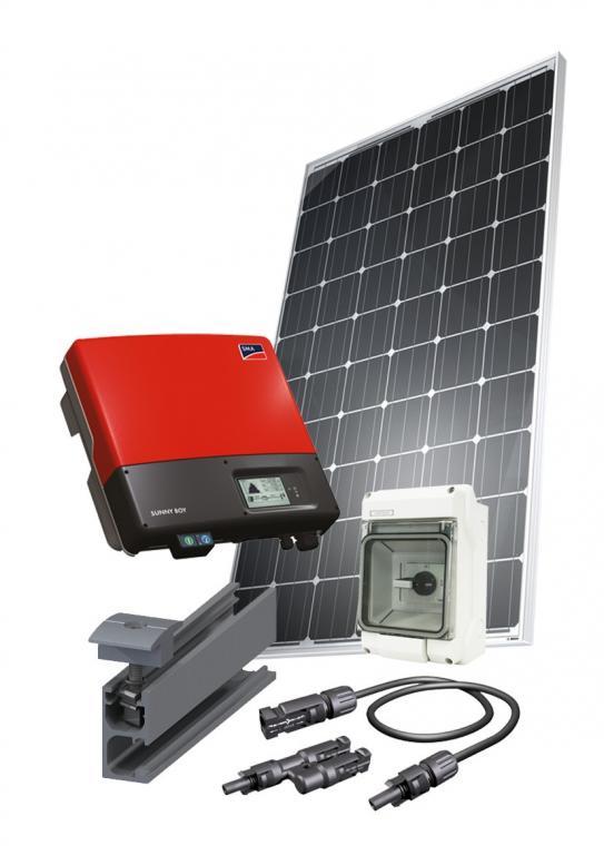 Солнечная установка для экономии электроэнергии мощностью 5 кВт- 1фаза