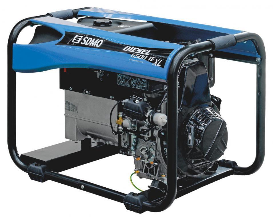 Дизельный генератор SDMO DIESEL 6500 TE-XL-C (380В/5,2кВт)