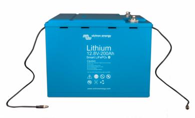 Литий ионный аккумулятор Victron Energy LiFePO4 12,8В/200Ач Smart.