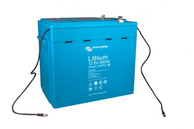 Литий ионный аккумулятор Victron Energy LiFePO4 12,8В/300Ач Smart
