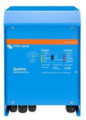 Автономный инвертор Victron Quattro 24/3000/70-50/50 230V VE.Bus