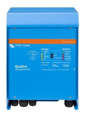 Автономный инвертор Victron Quattro 12/3000/120-50/50 230V VE.Bus
