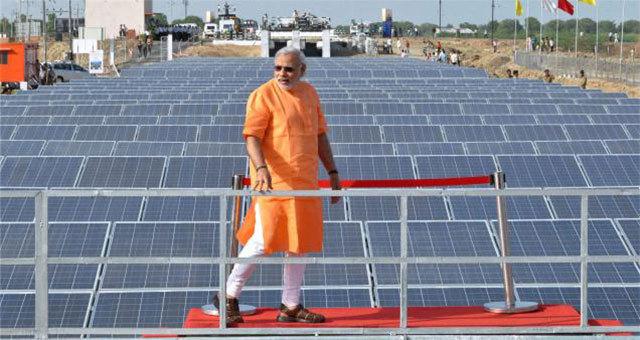 солнечные батареи в Индии