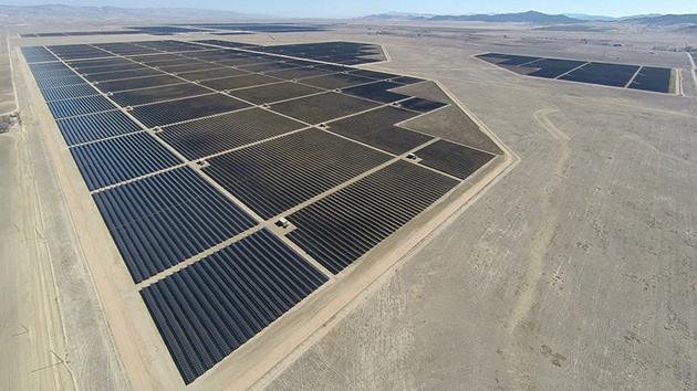 солнечные электростанции в Калифорнии
