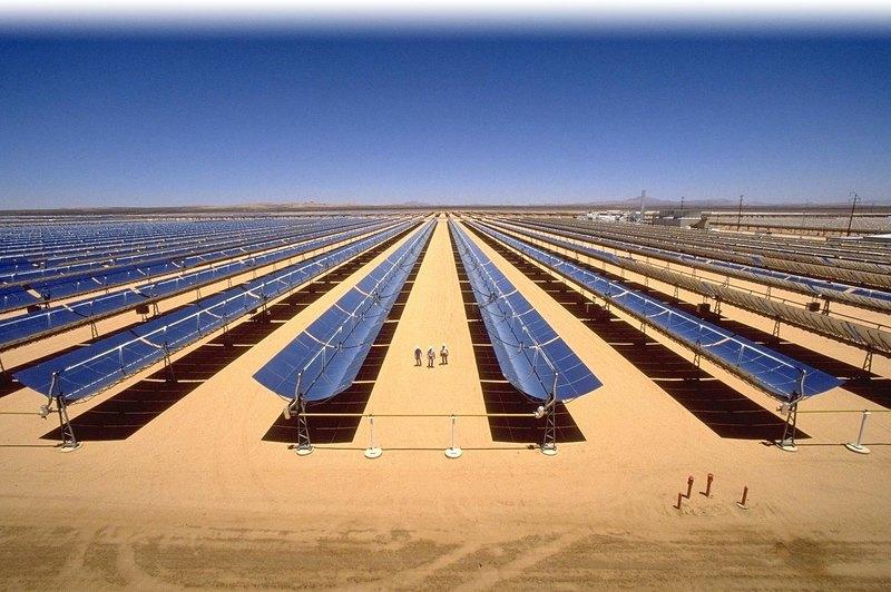 солнечные электростанции в Техасе