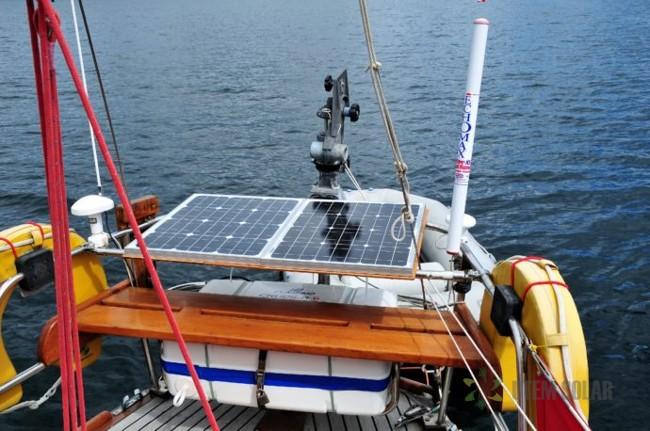 солнечные батареи на яхте
